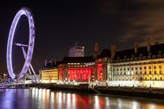 """500px / Photo """"London Eye at night"""" by eL Gee"""