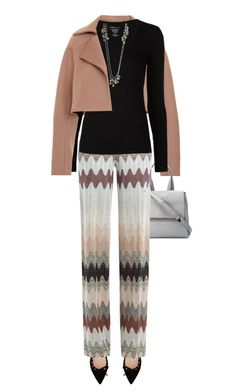 """""""."""" by fashionmonkey1 ❤ liked on Polyvore featuring Derek Lam, Gianvito Rossi, Givenchy, Missoni, Majestic Filatures, Melissa Joy Manning, women's clothing, women's fashion, women and female"""