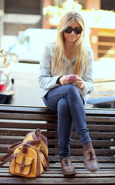 oxfords. want to look just like her