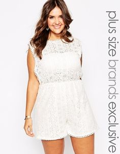 Alice & You Lace Detail Playsuit, I wish it came in another color.