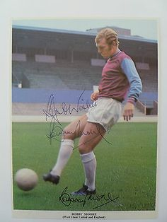 #Bobby moore hand #signed autograph west ham utd & #england world cup 1966,  View more on the LINK: http://www.zeppy.io/product/gb/2/272381121163/