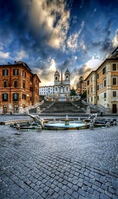 Piazza di Spagna, Rome, Italy (by Paolo Margari on Flickr)