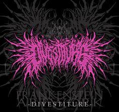 DIVESTITURE (Brutal Death Metal) by Grinderism.deviantart.com on @DeviantArt Metal Band Logos, Metal Font, Metal Letters, Metal Bands, Dm Logo, Band Logo Design, Extreme Metal, Grunge Art, Metal Albums