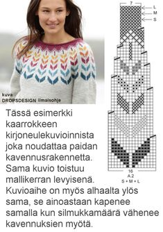 Fair Isle Knitting Patterns, Icelandic Sweaters, Knit Art, Sewing Crafts, Free Pattern, Knit Crochet, Projects To Try, Crafts To Do, Clothes