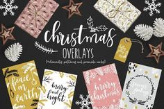 Christmas overlays:
