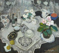 The Lace Cloth c.1944 by Anne Redpath (1895-1965)