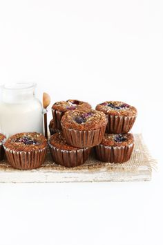 EASY Moist, Healthy Berry Coconut MUFFINS! Just 1 bowl required #vegan #glutenfree #muffins