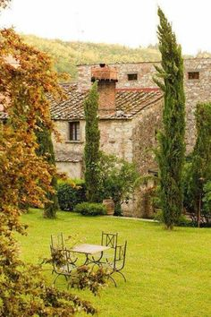 French country - how does it feel to wake up with this view?
