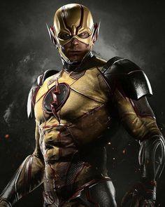 Injustice 2 Characters, Flash Characters, Dc Comics Characters, Superheroes Wallpaper, New Superheroes, Wallpapers Flash, Flash Wallpaper, Flash Barry Allen, Flash Comics