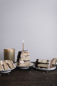 Gingerbread Whisky Cake with Brown Sugar Swiss Meringue Buttercream and Milk Chocolate Ganache