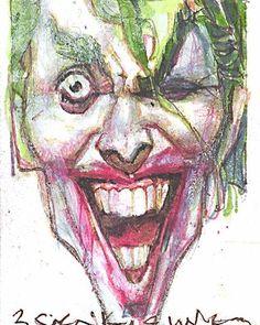 billsienkiewiczart #monday #joker #batman #dc @dc_collectibles @dccomics @comicbookpros