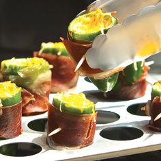 Bacon Wrapped Stuffed Jalepenos
