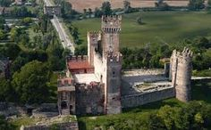 Valeggio sul Mincio , castello Scaligero