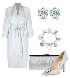 """""""Outfit 42"""" by first-lady-mathilde on Polyvore featuring мода, Jessica McClintock, ChloBo и Jimmy Choo"""