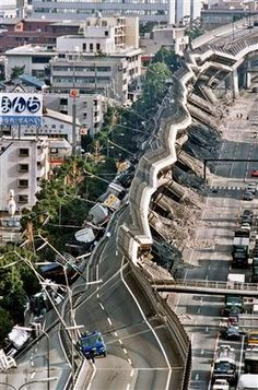 Kobe earthquake, Jan. 1995, Japan