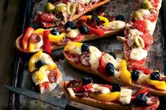 Pizza bagety | Apetitonline.cz