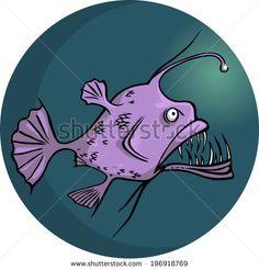 stock-vector-anglerfish-vector-illustration-no-transparencies-196918769.jpg (450×470)