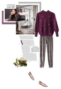"""Cold"" by theitalianglam ❤ liked on Polyvore featuring Repeat Cashmere and cozychic"