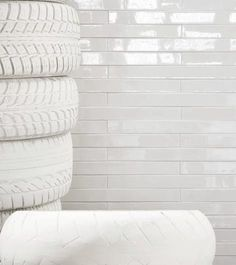 Indoor tile / wall-mounted / ceramic / enameled CERAMICA by Silvia Giacobazzi MUTINA