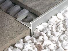 i notice details [ architecture _ interiors ] Tile Edge, Joinery Details, Floor Trim, Tuile, Tile Trim, Stair Nosing, Marble Floor, Floor Finishes, Laminate Flooring