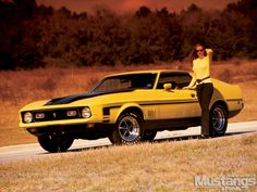 1972 Mustang Mach 1 | 1972 Ford Mustang Mach 1 Front Left Quarter View