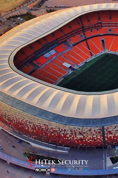 In November of 2018, an Installation Company was called in to replace 20 PTZ cameras around the stadium entrance!   Find out more about this project by clicking on the link: Soccer City, Ptz Camera, National Stadium, Football Stadiums, Event Management, Fifa World Cup, The Locals, South Africa, Cameras
