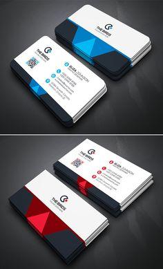 Simple   Clean Business Card Template Cartão De Empresa Mínimo, Cartões De  Visitas Elegantes, 5bd3355755