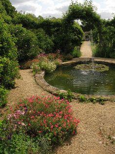 Rousham House Gardens, Oxfordshire, England