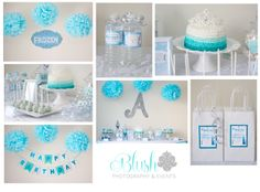 Disney Frozen Birthday Party designed & styled by Blush Photography & Events (Event Planner - Ottawa, Ontario) www.blushphotographyandevents.com