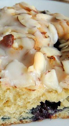 Blueberry & Almond Coffee Cake