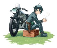 New  #manga for Kino, Railgun, and more on the way. http://www.crunchyroll.com/anime-news/2017/04/07/dengeki-daioh-introduces-new-kinos-journey-railgun-and-more?utm_campaign=crowdfire&utm_content=crowdfire&utm_medium=social&utm_source=pinterest