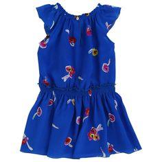 Rykiel Enfant printed silk dress