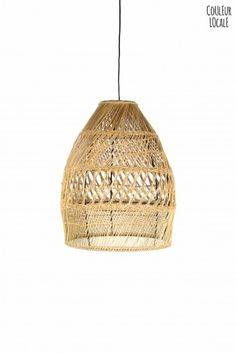 Shezad Seagrass Suspension - Hanging Lamps - Light