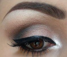 Pretty & simple eye makeup