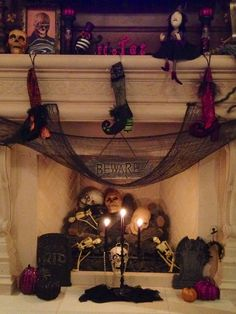 Top 50 #Halloween #Mantels Of2013 - Style Estate -