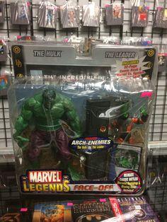 Marvel Legends Face-Off Marvel's Arch-Enemies The Hulk Vs The Leader 2006 ToyBiz