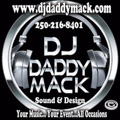 Affordable Wedding DJ for DJ Daddy Mack Sound & Design Victoria British… Sound Design, E Design, Dj Sound, Space Music, Victoria British, Best Dj, Wedding Dj, Your Music, Buick Logo