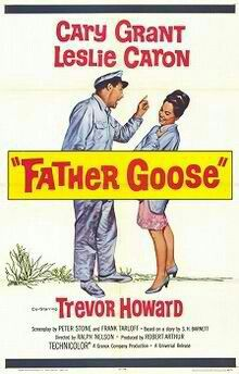 "BEST ORIGINAL SCREENPLAY: S.H. Barnett, Peter Stone and Frank Tarloff for ""Father Goose""."