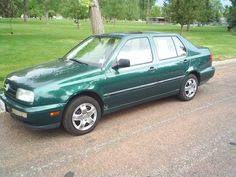 When we moved back to Utah in 2000, I needed a car to drive to work. I found a green 1995 VW Jetta Celebration Edition. It was a decent enough car, but like most VWs of the era, they were flawed. The 2.0 liter 110 hp engine was adequate, but the car had a very heavy clutch and was burdensome to drive, but it was a great freeway cruiser, as all VWs are. After driving it for a couple of years, I was happy to get rid of it.