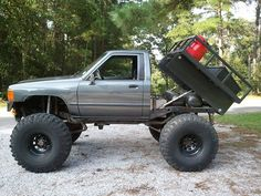 off road truck with a flatbed - Google Search