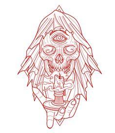 Vida Loca Tattoo Bolton Artist Jamie Winters skull design #tattoo #vidalocatattoo #tattooartist #tattoos #newtattoo #tattoodesigns #tattooideas #tattoogirls #inkedgirls #girlswithtattoos