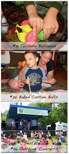 36 Fun Summer Activities for Kids Who are Blind and Multiply Disabled! During long breaks from school we're always looking for something fun (and preferably educational) for Ivan to do, but it can be very difficult to find projects or outings that are appropriate for a young child who is blind and has multiple disabilities. So we adapt the activities that we find online, ask our friends for ideas and make up some of our own. Here are some ideas for you to try with your child this summer....