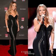 #MariahCarey got glam in a #Georgine sweetheart cut dress at the AHF World AIDS DAY Concert and 30th Anniversary Celebration in LA. Hot! Or Hmm...? #fashionbombdaily #fashion #style #instastyle #instafashion #celebritystyle #realstyle - Celebrity #Fashion Style Culture Couture Advertising Culture #Beauty Editorial #Photography Magazines Supermodels Runway Models