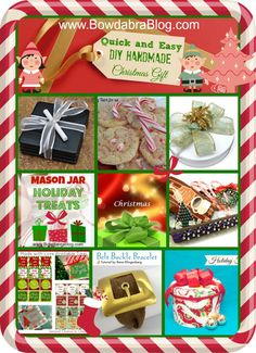 Christmas DIY Quick and Easy Handmade Gifts for the Holidays
