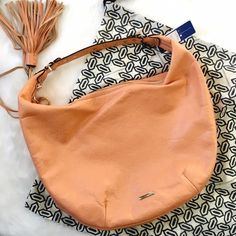 NWT Rebecca Minkoff Bailey Studded Hobo in Peachy This is such a fabulous bag! Studs, pastels, tassels, this roomy hobo from boho master Rebecca Minkoff is a dream! Pristine, no flaws, ready to make a statement! Rebecca Minkoff Bags