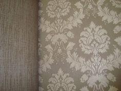 classico behang vinyl taupe barok 6