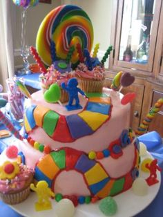Candyland Theme Party Ideas cakepins.com