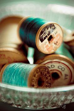 Vintage spools.