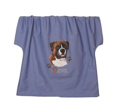 Boxer natural ears Scrub top and scrub pants with by 1barkavenue, $36.00