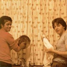 Just a picture of MJ and PMcC doing dishes together